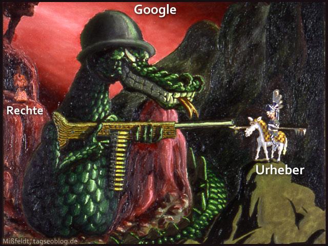 Google Bildersuche - Urheberrechte? War da was...?