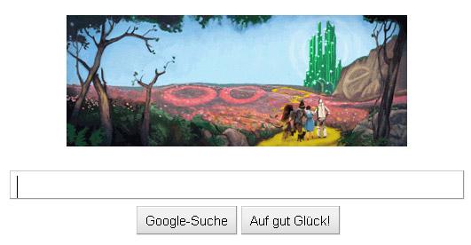 Google Doodle: Der Zauberer von Oz (von Lyman Frank Baum)