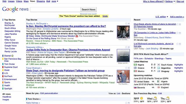 Google News Update mit neuen features