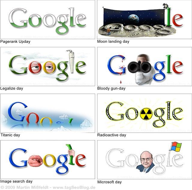 Inoffizielle Google Doodle von Mißfeldt
