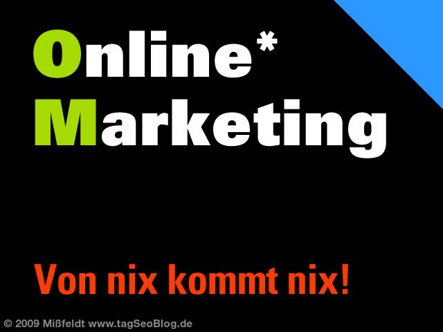 Online-Marketing - Internet-Werbung