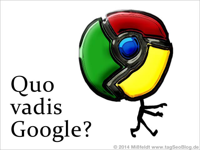 Quo vadis Google?