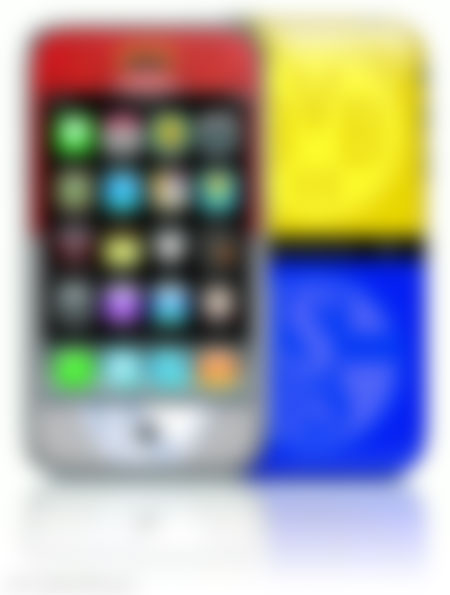 Das Revierphone (funny iPhone G4) - bald mit Eintritt-App?