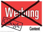 Google: Zu viel Werbung ist schlecht!