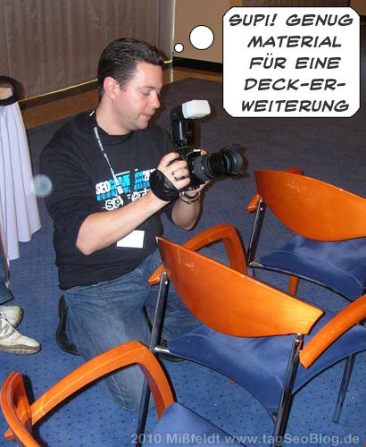 Seodeluxe als Fotochronist plant seine Deck-Erweiterung