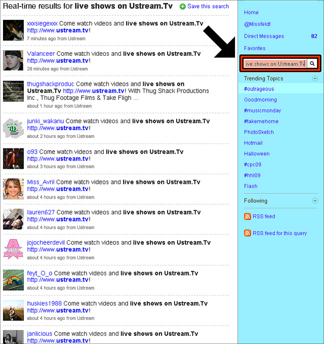 How to find and delete Twitter-Spam (2)