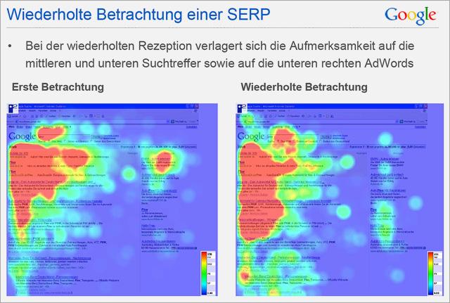 Screenshot: Google Adwords Studie
