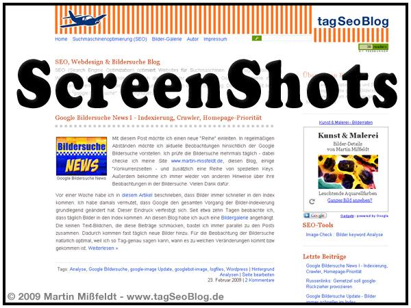Screenshot - Bilder