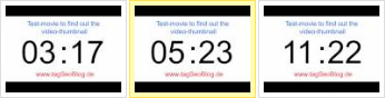 Video Preview test 12 Sek.