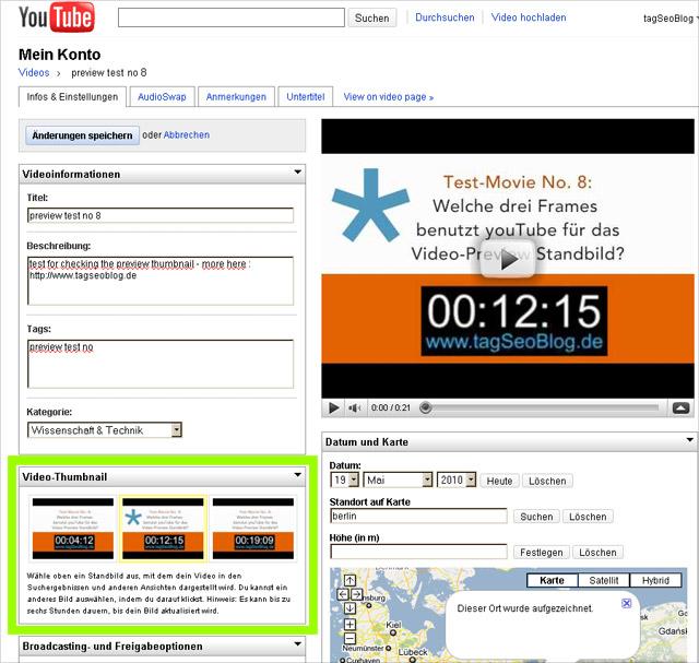YouTube Screenshot - Preview Thumbnail
