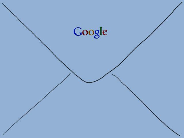 Blauer Brief von Google
