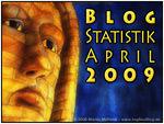 Blogstatistik April 2009