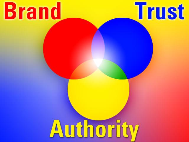 Brand - Trust - Authority