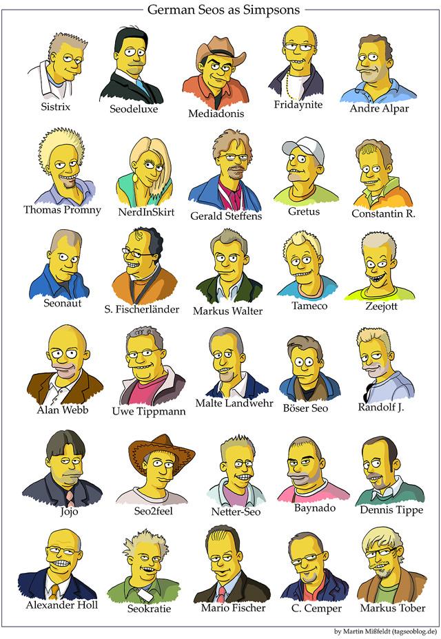 German Seos as Simpsons Extended