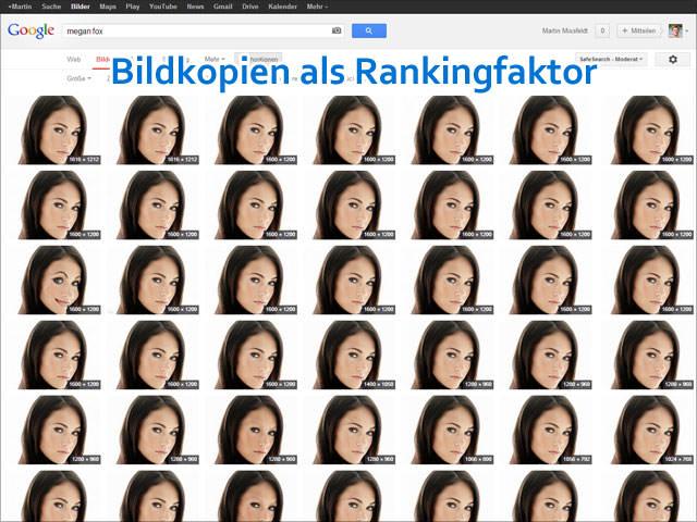 Google: Bildkopien als Rankingfaktor