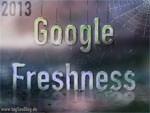 Google Freshness 2013