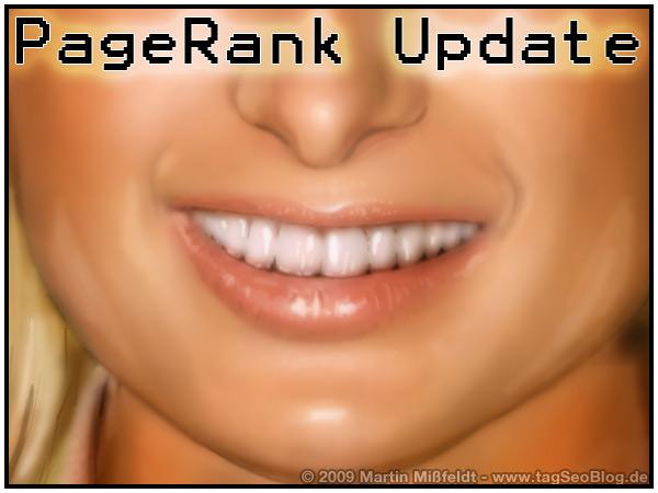 Google pageRank update - 2009 [1]