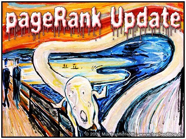 Google pageRank-Update