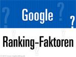 Google Ranking-Faktoren