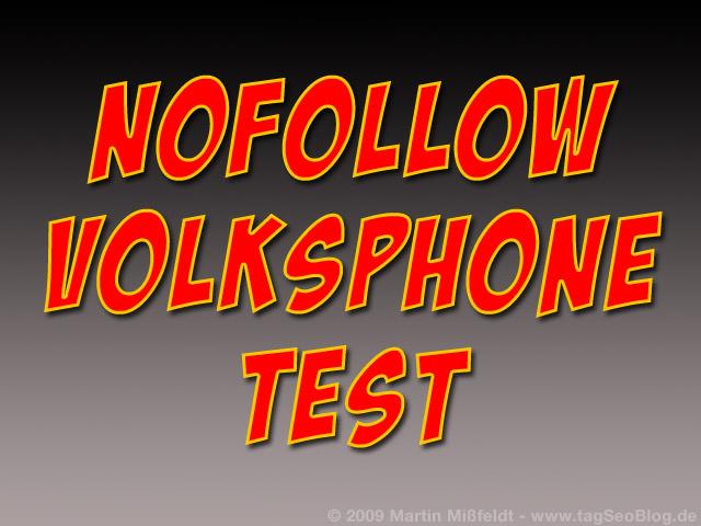 Nofollow Volksphone Test