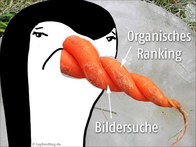 Penguin betrifft auch Bildersuche