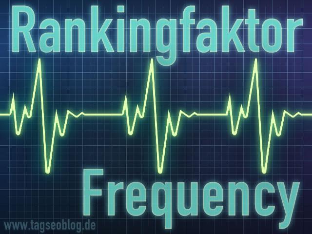 Rankingfaktor Frequency