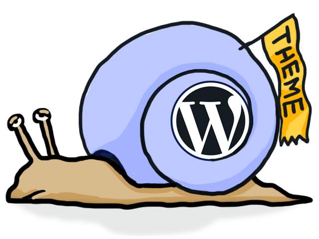 Wordpress ist ne Schnecke ...