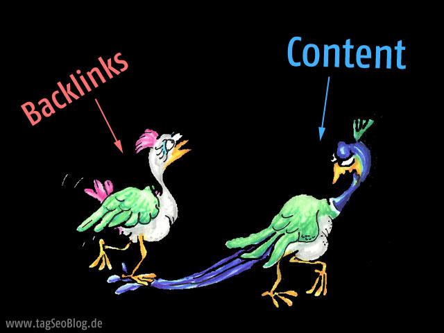 Guter Content & Backlinks