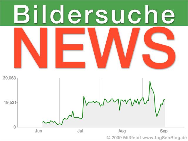 Bildersuche News - Universal Search, schnelle Indexierung, Hotlinking etc
