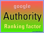 Google Authority - Ranking Faktor