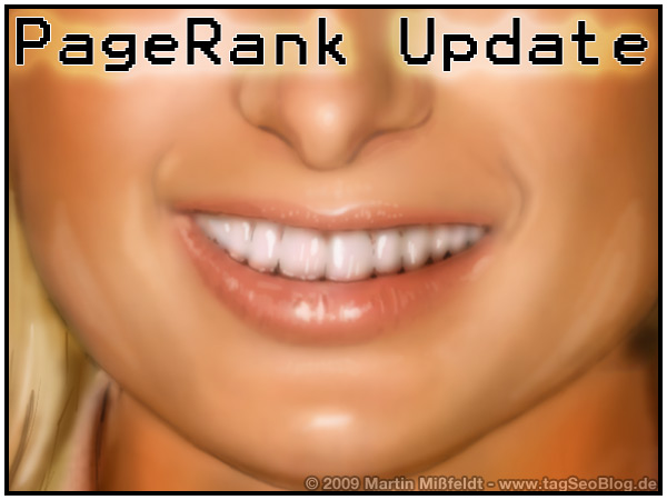 Google pageRank update - 2009 (1)