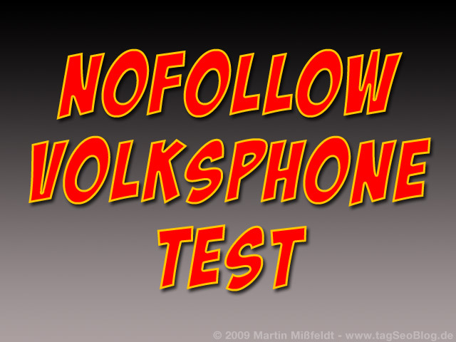 Nofollow Volksphone Test
