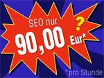 SEO kostet 90 Eur/Stunde