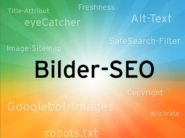 Suchmaschinenoptimierung für Bilder (kostenloses Ebook)