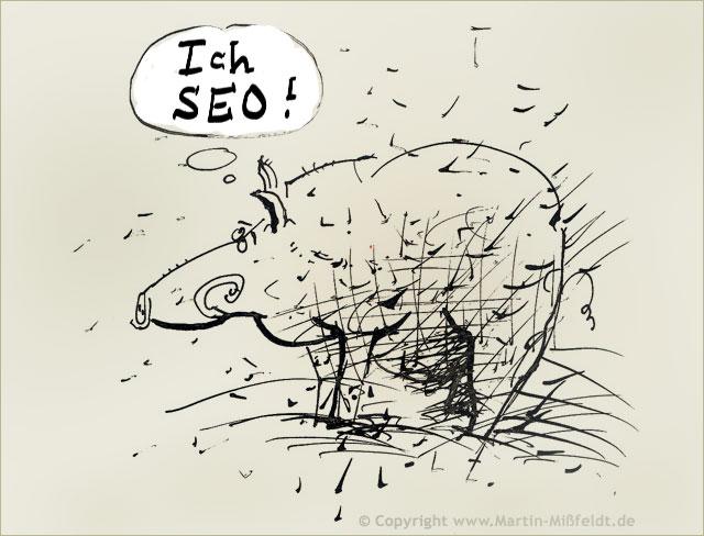 WildsauSeo - Suchmaschinenoptimierer sind Schweine!