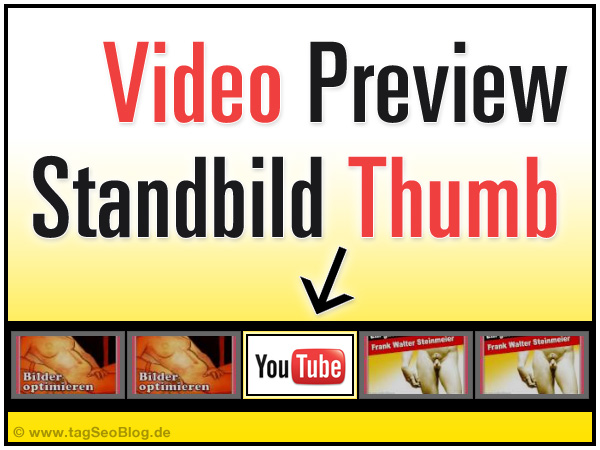 YouTube Video Preview Standbild optimieren