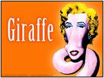 Giraffe - Lustige Bilder von Giraffen in natürlicher Umgebung