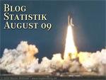 Blogstatistik August 2009