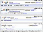 Design und Funktionen der Google-Bildersuche