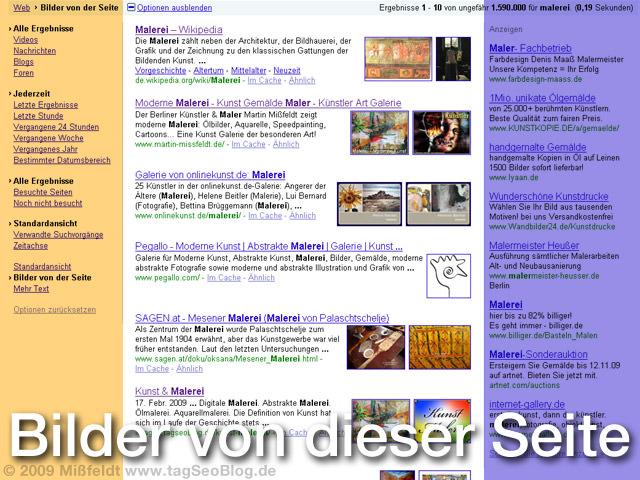 Google Anzeige-Optionen (mit Bildern)