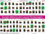"Google images - Layout Ã""nderungen"