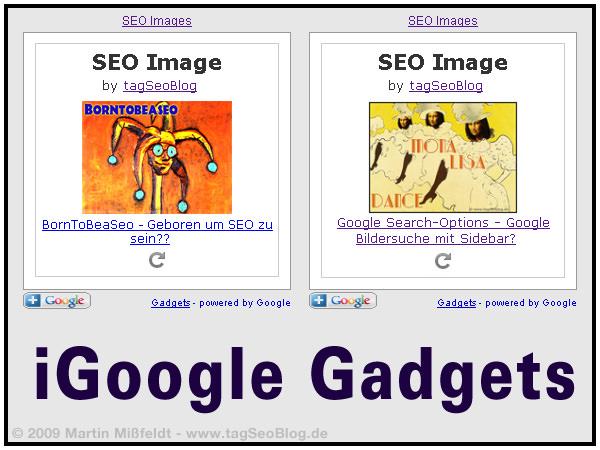 iGoogle Gadegt (Seo Images)