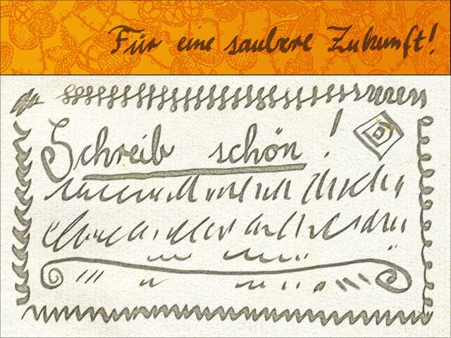 Schön schreiben (Handschrift)