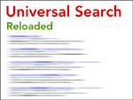 Google Universal Search reloaded