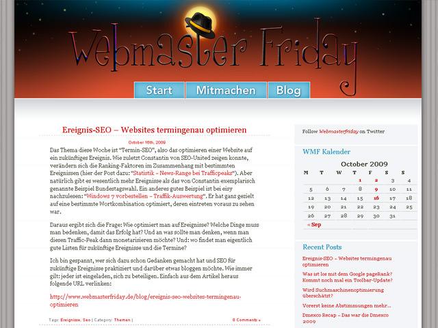 Webmaster-Friday (new design)