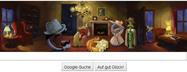 Agatha Christie Google Doodle