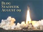 Blog-Statistik August 2009