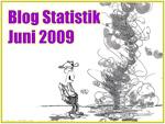 Blogstatistik Juni 2009