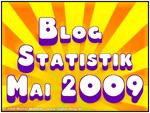 Blogstatistik Mai 2009