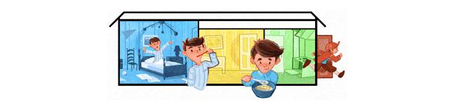 Google Doodle zum Weltkindertag 2010